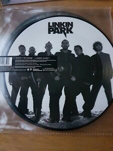 "LINKIN PARK - WHAT I'VE DONE  .PIC.DISC  7""  VINYL SINGLE.  EX+CON"