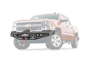 Warn Ascent Front Bumper For 2014-2015 Chevrolet Silverado 1500 95800