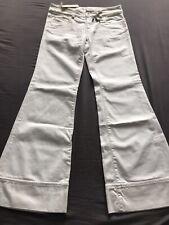 Diesel White Pacee Wide Leg Flare Jeans W30 L32 BNWT