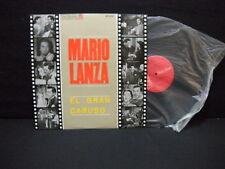 Mario Lanza With Orquesta RCA ' EL GRAN CARUSO ' LP N.MINT SPAIN PRESS 1966