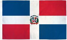 "DOMINICAN REP 3X5' FLAG NEW 3'X5' 3 X 5 FEET 36X60"" BIG"