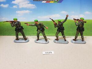 Britains Super Deetail Modern British Royal Marines - Set of 4   (lot 3329)