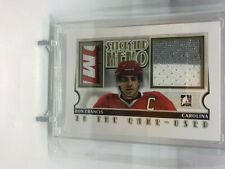 RON FRANCIS 13/14 ITG In The Game Used GOLD /10 Jersey/Patch Stick and Memo SP