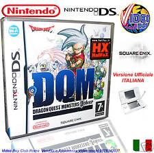 DRAGON QUEST MONSTER JOKER DQM ITALIANO NINTENDO DS NDS