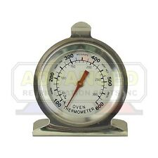 Supco ST04 Oven Thermometer Round Dial 100'F to 600'F Hanging/Standing Up