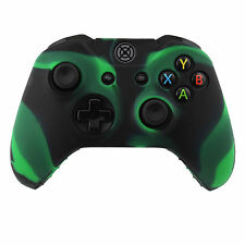 Camo Color Silicon Case Skin Cover for XBox One Wireless Controller Green Black