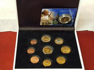 Vatikan 🇻🇦 2005 Sede Vacante & Coincard Köln 2005 💥 3x 2 Euro Münze Probe 💥