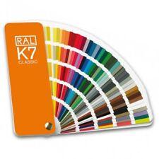 mazzetta campionario colori industriali RAL K7