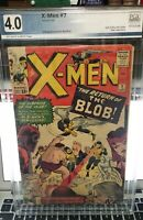 Hot! X-Men #7 Graded PGX Not CGC, CBCS Great Comic! Coming To The MCU!