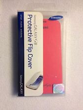 Original Samsung Galaxy S3 Flip Cover Folio Phone Case (Pink)