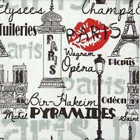 4x Paper Napkins for Decoupage Decopatch Craft Paris Black