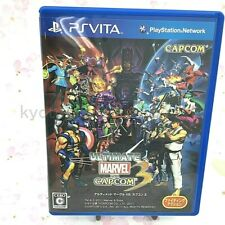 Usé Ps Vita Ultimate Marvel Vs.Capcom 3 Psv 41539 Japon Import