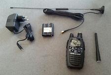 Midland G7 PRO PMR446 Funkgerät mit austauschbarer Kurz und Magnetfußantenn 3w
