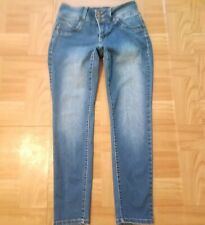 Womens Butt Lifter Wannabetterbutt? Skinny Mid Rise Ankle Long Pant Jeans Sz 8P