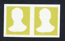 Liberia # 437 MNH IMPERF PAIR Proof of Frame 1966-69 Presidential Set