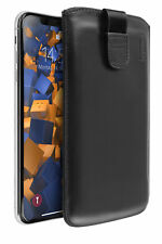 Mumbi Ledertasche für Apple iPhone 8 7 plus hülle Leder Tasche Etui Wallet Case