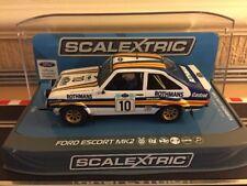 Scalextric Digital Ford Escort MK2 1980 Acropolis Rally N010 C3749 Mint