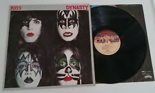KISS Dynasty RARE 1980 NORWAY 1st press complete with KISS ARMY SWEDEN inner NcB