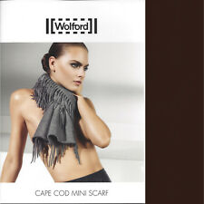 Wolford Clair Scarf  .. Schal Tuch mit Kaschmir ornamentales Jacquard Muster