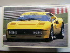 Fujimi Vintage 1/16 Scale Ferrari 288 GTO Yellow Model Kit - Rare - New # 10125