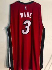 Adidas Swingman 2015-16 NBA Jersey Miami Heat Dwayne Wade Red sz L