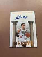 Dillon Brooks Rookie Auto Card: 2017-18 Panini - Cornerstones Basketball #/75