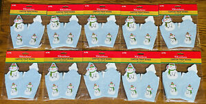 LOT OF 72 CHRISTMAS SNOWMAN CARTON TREAT BOXES NEW 6-packs Gifts Toys Snacks