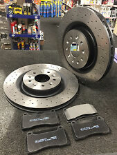 Jaguar XK8 96-05 4.0 Coupe XKR 370bhp Front Brake Pads Discs 305mm Vented
