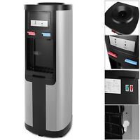 New 5 Gallon Top Loading Water Cooler Dispenser Hot Cold Water Child Safety Lock