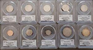 2017-S Enhanced Finish Mint UNC Set 225th Anniver PCGS SP70 Denver ANA fs + fdoi