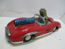 SPACE PATROL ROBOT CAR WITH SPARKING GUN VERY GOOD COND ATC JAPAN
