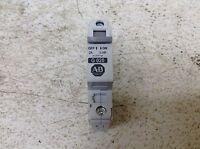 Allen Bradley G020 1492-CB1 1 Pole 2 Amp Circuit Breaker 1492CB1 1492-CB1G020