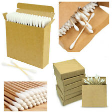 BAMBOO WOODEN COTTON BUDS 100% NATURAL ECO FRIENDLY BIODEGRADABLE EARBUDS