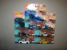 Hot Wheels Car Culture Street Tuners Set, Nissan Silvia, Honda S2000, Subaru BRZ