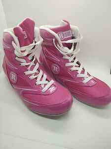 Ringside Diablo Womens Wrestling Boxing Shoes Size 8 Pink - Brand New W/Box