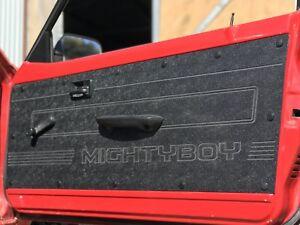 Black ABS Suzuki Mighty Boy Ute Waterproof Rugged Door Cards