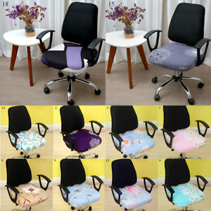 Office Chair Cover Computer Desk Swivel Chair Slipcover Home Seat Cover Decor