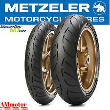 Metzeler M7 RR 120 70 + 180 55 17 Sportec Coppia Pneumatici Gomme Moto Dot 2020