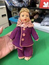 "New listing Vintage Lenci Type Doll 8"" Tall"