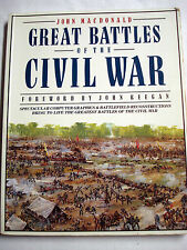 Great Battles of the Civil War by James McDonald 1992 Paperback