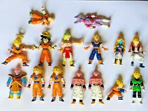 Lot de 15 Figurines Dragon Ball Z Vintage  BANDAI © BS/STA 1989