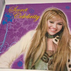 Hannah Montana Secret Celebrity Standard Pillowcase Double Sided Disney Miley