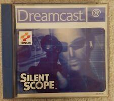 SILENT SCOPE für SEGA DREAMCAST Action Konami Spiel Game Konami KULT Akzeptabel