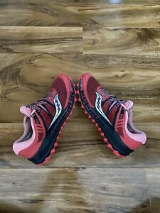 Saucony Peregrine ISO series womens trail shoe trainers- size Uk 7.5. Us9.5