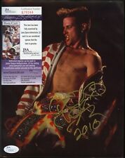 Vanilla Ice Singer Signed 8x10 Photo JSA COA AUTO Autograph