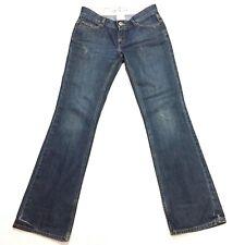 BANANA REPUBLIC Jeans Size 6 Low Rise Bootcut  Blue Medium Wash Distressed