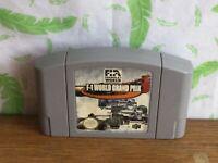Nintendo 64 N64 game - F-1 Grand Prix - (YE1)