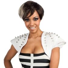 RIHANNA TWO TONED WIG SHORT EMO PUNK FANCY DRESS UP HALLOWEEN COSPLAY NEW