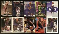 Lot of 10 (3 Rookie) 1997-2000 Tracy McGrady Fleer/Skybox/Upper Deck Cards