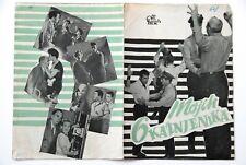 MY SIX CONVICTS REGONESE 1952 VERY RARE EXYUGO MOVIE PROGRAM